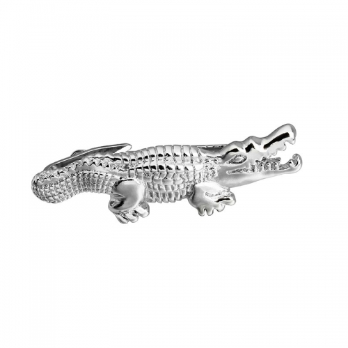 HAWSON 2 inch Tie Clip for Men-Novelty Crocodile Necktie Bar Clip Tie Pin Special Interesting Gift for Men